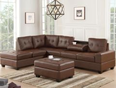 HEIGHTS - SECTIONAL + OTTOMAN SET