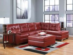 Allison Red Sectional