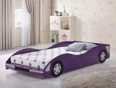 Purple Race Car Bed