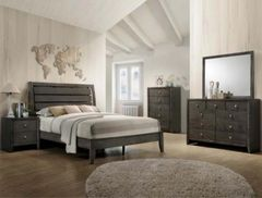 Evan Bedroom Set (grey)