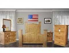 Mansion Honey Bedroom Set