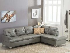 Vintage Sectional Gray