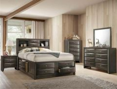 SetB4275 Emily Storage Bedroom (Grey)