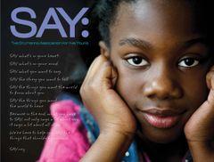 SAY Manifesto Poster