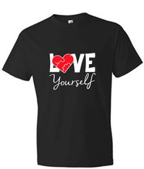Love Yourself Unisex Short Sleeve Tee