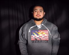 'Bearica Sports Lace Hooded Sweatshirt