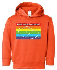 My Parents Toddler Pullover Fleece Hooded Sweatshirt