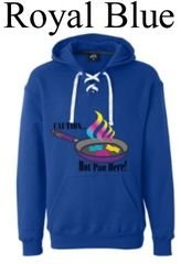 Hot Pan Sports Lace Hooded Sweatshirt