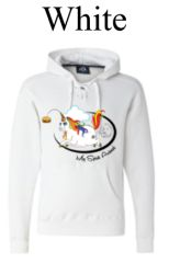 Spirit Animal Sports Lace Hooded Sweatshirt