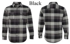Long Sleeve Yarn-Dyed Flannel Shirt