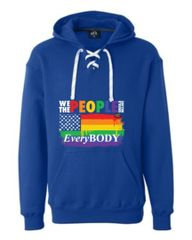 We the People Sports Lace Hooded Sweatshirt