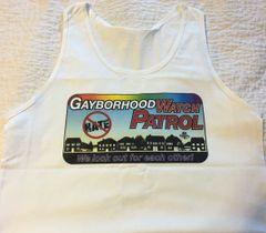 Gayborhood Watch Masculine Ultra Cotton Tank Top