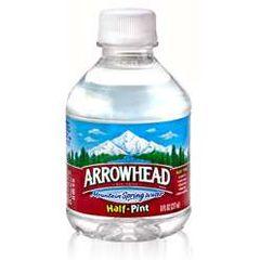 Drinks: Arrowhead Mini Bottles ($.63ea)