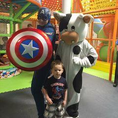 Character Visit: Super Hero