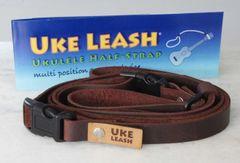 02– Uke Leash® half strap Leather