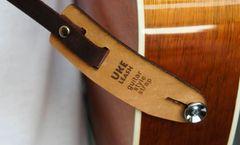 04– Uke Leash® Guitar Style Strap Leather