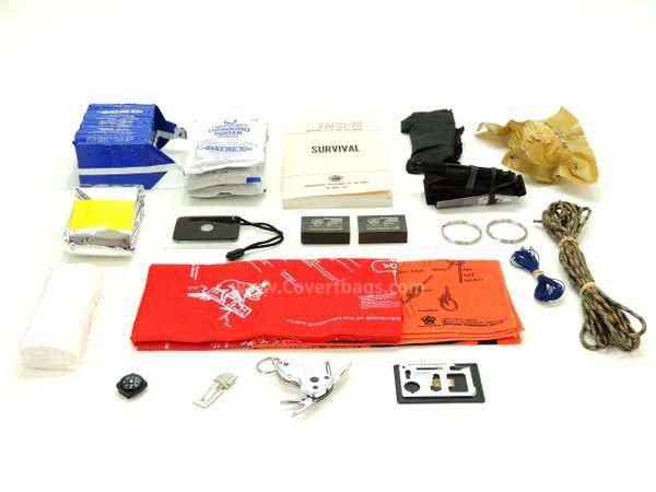 EDC Survival Kit 1.0 and Blackhawk! Tactical Handbag