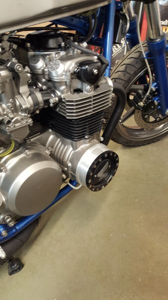 Honda Cb Billet Aluminum Ignition Cover Slipstream Cycle