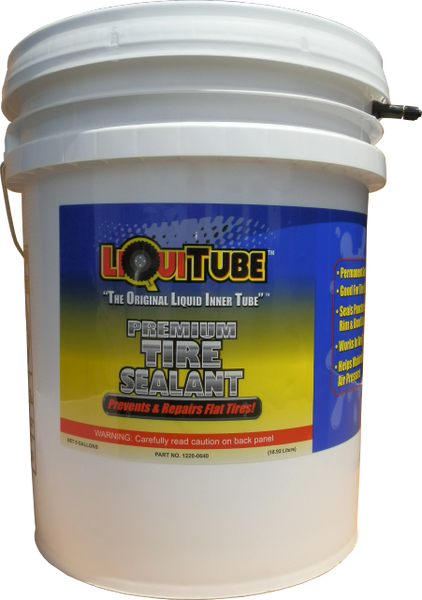 LiquiTube Premium Tire Sealant 5 Gallon Bucket (Pump sold separately)