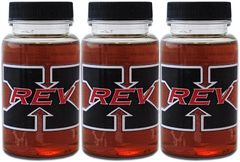3-Pack of REV-X High Performance Oil Additive 4 oz. Bottle