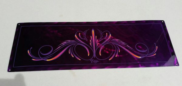 CANDY PURPLE - Original Art - Ground METAL Panel