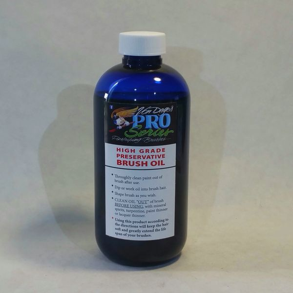 "Brush Preservative ""Natural Oil"" - 8. oz bottle"