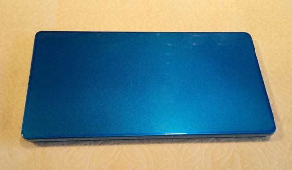 Royal Blue Metallic Lettering Quill & Pinstriping Brush Box
