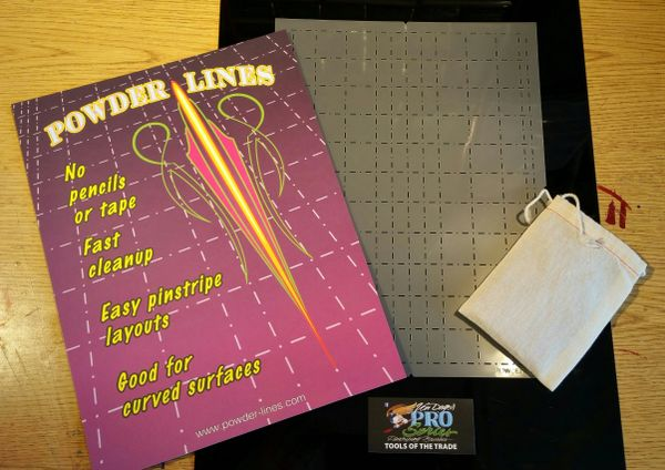 Powder Lines Design Grid
