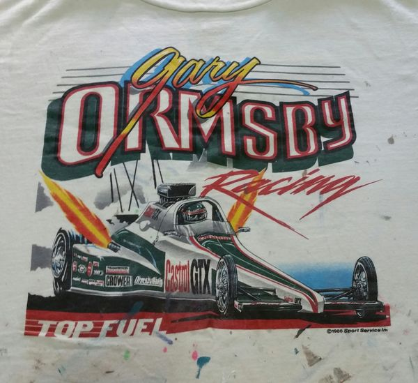Gary Ormsby Castrol GTX Top Fuel dragster