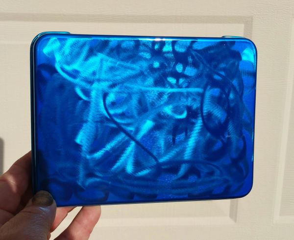 Ground Metal Candy Blue - Pinstriping Brush Box