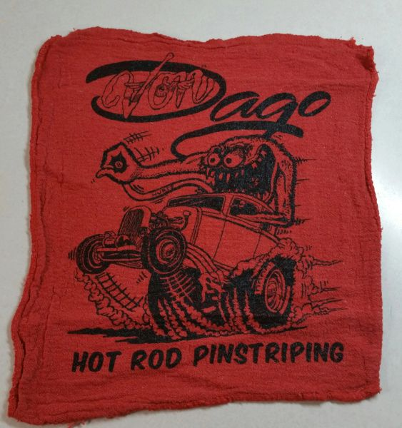 Von Dago '32 Coupe Mechanics Rag