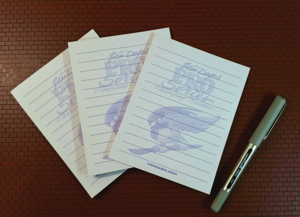 Pro-Series NOTE PADS *3 Pac*