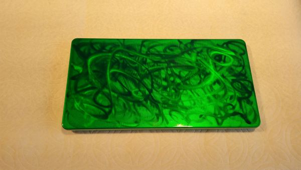 Ground Metal Candy Green - Lettering Brush box