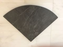Black Slate Natural Stone Shower Corner Shelf