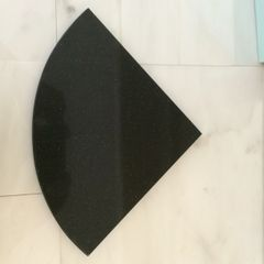 Black Quartz Stone Shower Shelf