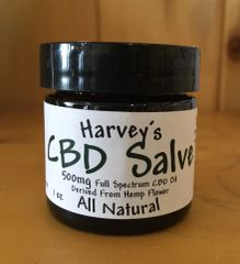 Harvey's Hemp-Infused Salve