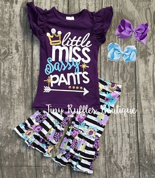 Little Miss Sassy Pants Outfit  fae3bc696