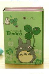 My Neighbor Totoro Sticky Memo Note Pad - Green
