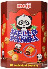 Meiji Hello Panda Chocolate Biscuit 9.1 Ounce