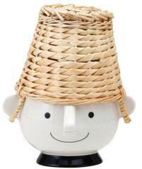 Manpuku Boy (Basket of Bread up in Hats)