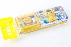 2 Tier Tin Pokemon Go Pencil Case Set