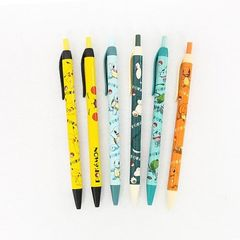 Nintendo Pokemon 0.5mm Mechanical Lead Pencil with Pocket Clip (Set of 6))
