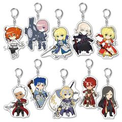 Pic-Lil! Fate/Grand Order Trading Acrylic Keychain (Random 1 pc)