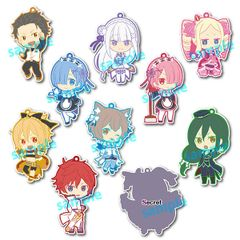 Toy'sworks Collection Niitengomu! - Re:ZERO -Starting Life in Another World Strap (Random 1 pc)