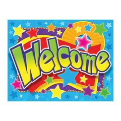 Trend Enterprises Welcome (Stars) Learning Chart