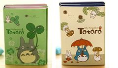 My Neighbor Totoro Sticky Memo Note Pad - Pack of 2 (Blue and Green)