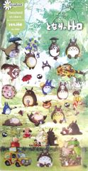 Kawaii Cute My Neighbor Totoro Stickers Decal: 2 Sheets