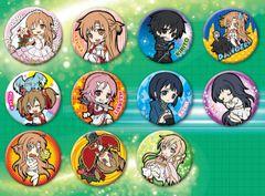 Toy'sworks Collection 2.5 Can Badge Sword Art Online (Random - 1 Pack)
