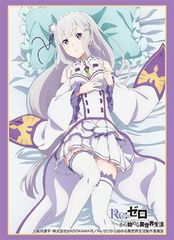 Life In a Different World Re: Zero Emilia P2 Trading Card Game Character Sleeves
