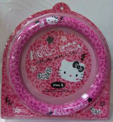 "Hello Kitty Pink Steering Wheel Cover (from 14.5"" to 15.25"" in diameter)"